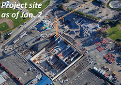 Project site as of Jan. 2