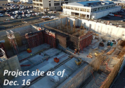 Project site as of Dec. 16